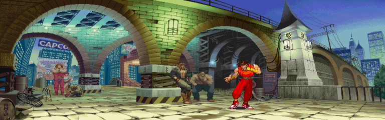 Guy from Street Fighter Alpha 3