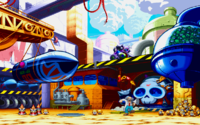 Dr. Wily's Base from Marvel vs Capcom