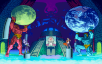 Headquarters of Evil from Marvel vs Capcom